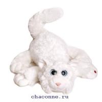 Котик Шалунишка три цвета в ассортименте озвученный 35 см